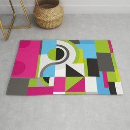 Creative Geometric Design Rug