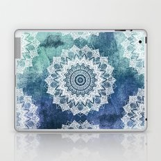 BOHOCHIC MANDALAS IN BLUE Laptop & iPad Skin