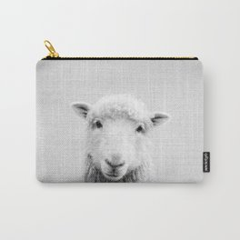Sheep - Black & White Carry-All Pouch