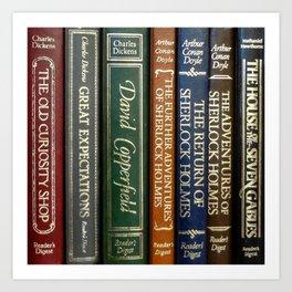 Books 2 Art Print