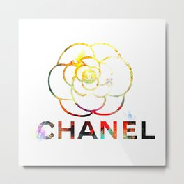 Fashion Flower Metal Print