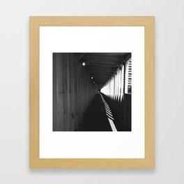 austin contemporary Framed Art Print