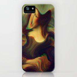 mona lisa gioconda marble iPhone Case