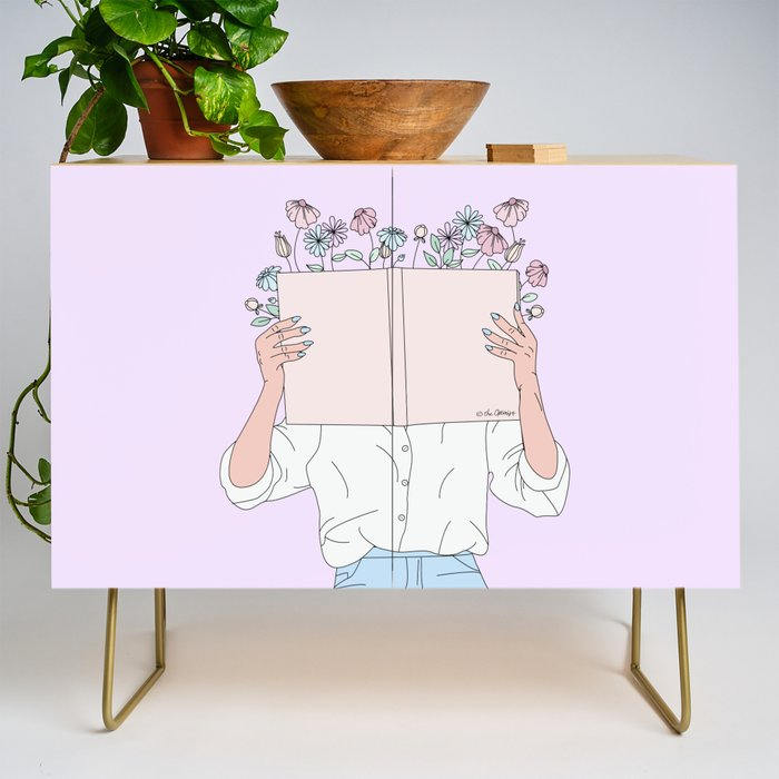 Read All About It Credenza
