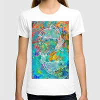 yin yang T-shirts featuring YIN & YANG by AlyZen Moonshadow
