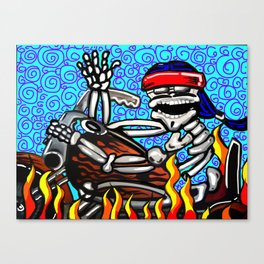 Bandido Joe Canvas Print