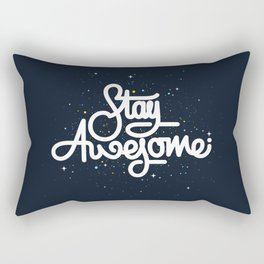 Stay Awesome Rectangular Pillow