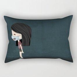 time to laugh Rectangular Pillow