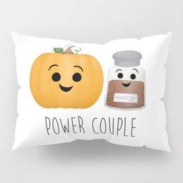 Pumpkin + Spice = Power Couple Pillow Sham