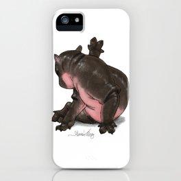 HippoCat iPhone Case