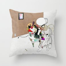 LOVE SONG OR SAD THING Throw Pillow