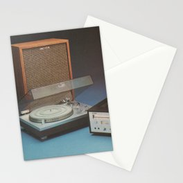 Vintage Speakers 1 Stationery Cards