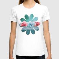 hydrangea T-shirts featuring HYDRANGEA LOVE by VIAINA