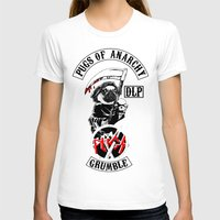 sons of anarchy T-shirts featuring Pugs of Anarchy by Dark Lord Pug