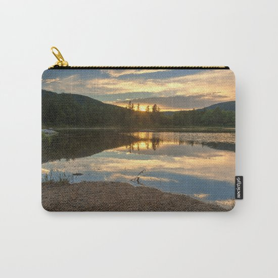 Lily Pond Sunset Carry-All Pouch