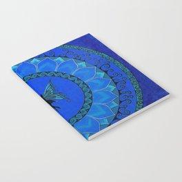 Fairy Garden Blue Notebook