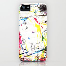 They Enjoy the Color Attack! iPhone Case