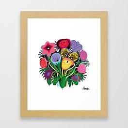 Yelapa Flowers Framed Art Print