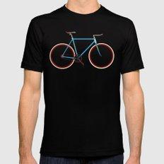 Bike MEDIUM Black Mens Fitted Tee