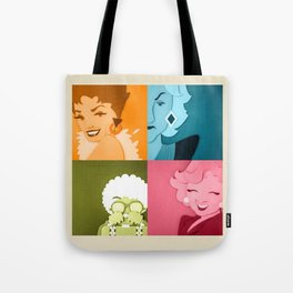 The Golden Girls Abstract Tote Bag
