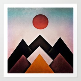 mountain 13 Art Print