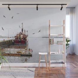 Fishing boat Wall Mural