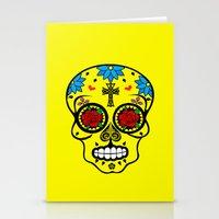 calavera Stationery Cards featuring Calavera by SuperEdu