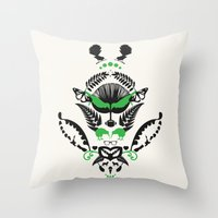 new zealand Throw Pillows featuring New Zealand  by Carly Hitchcock