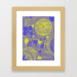 Transformation of Solar Energies Framed Art Print