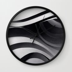 Paper Sculpture #5 Wall Clock