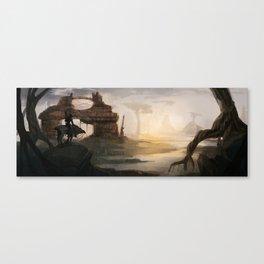 Sci-Fi scenery Canvas Print