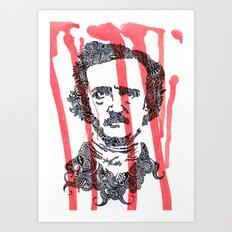 The Poe Art Print