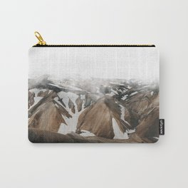 Iceland Snow and Mountains Carry-All Pouch
