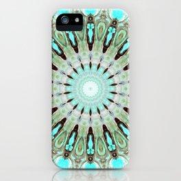 Tropical Floral Mandala iPhone Case