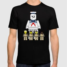 Ghostbusters  Black Mens Fitted Tee LARGE