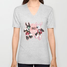 Cute And Deadly Unisex V-Neck