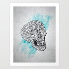 skull... Art Print