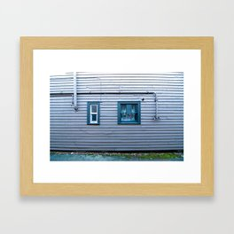 window, wall (one) Framed Art Print