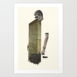 24 - this used to be banned Art Print