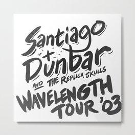 Santiago + Dunbar Wavelength Tour '03 Metal Print