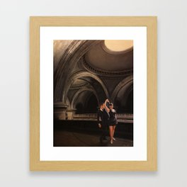 Blues In The Great Hall Framed Art Print