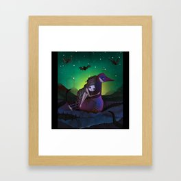 the Goose Girl Framed Art Print