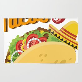 Tacos No Juan Ever Cinco De Mayo Party Rug