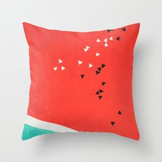 Composition №M2 Throw Pillow