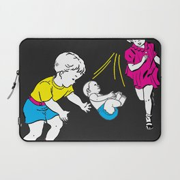 Catching Babies Laptop Sleeve
