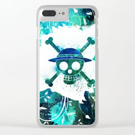 Pirates Symbol Clear iPhone Case