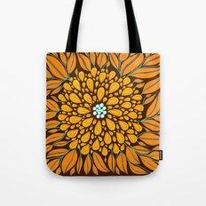 Autumn Floral Tote Bag