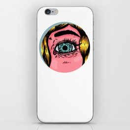 The blonde spies iPhone Skin