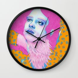 Natalie Foss x Deap Vally Wall Clock