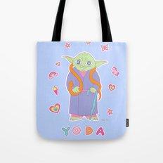 Yoda Sticker Magic Tote Bag